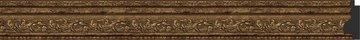 Зеркало в багетной раме 74x74см виньетка состаренная бронза 56мм Evoform BY 3233