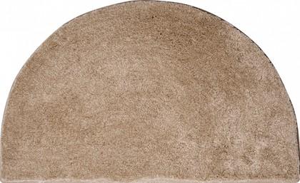 Коврик для ванной полукруглый 80x50см бежевый Grund Lex 2622.66.4136