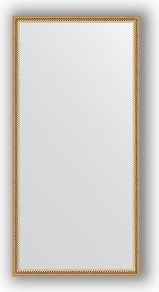Зеркало 48x98см в багетной раме витое золото Evoform BY 0692