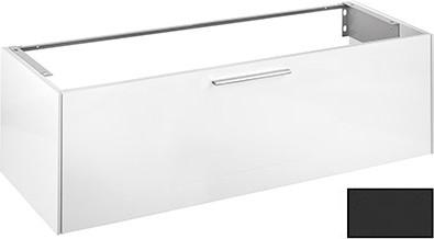 Тумба под умывальник с выдвижным ящиком, 1400x400x535мм, антрацит матовый Keuco ROYAL 60 32161440000