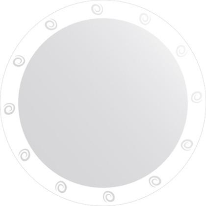 Зеркало для ванной с орнаментом диаметр 80см FBS CZ 0710