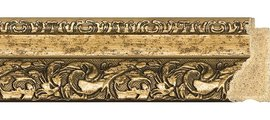 Зеркало 55x85см с фацетом 30мм в багетной раме виньетка бронзовая Evoform BY 1240