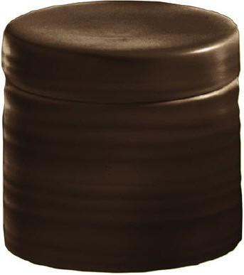 Контейнер для ватных дисков керамический коричневый Kleine Wolke Sahara 5046301873