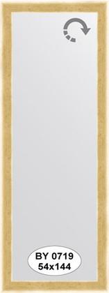 Зеркало 54x144см в багетной раме травлёное золото Evoform BY 0719