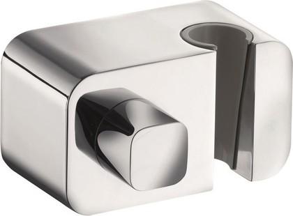 Соединение для шланга с запорным вентилем, с настенным держателем для душа, без обратного клапана, хром Kludi A-QA 6556205-00
