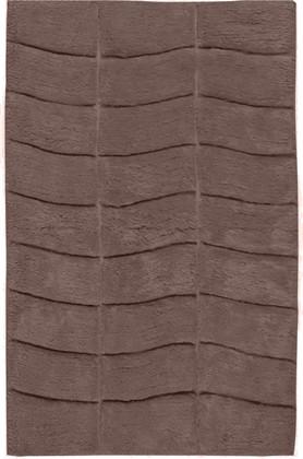 Коврик для ванной комнаты хлопковый 50x80см серо-коричневый Spirella MANHATTAN 4006014