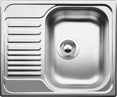 """Кухонная мойка оборачиваемая с крылом, нержавеющая сталь """"декор"""" Blanco Tipo 45 S mini 516525"""