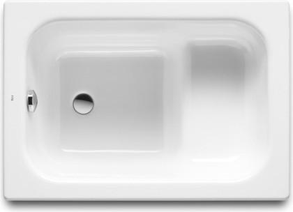 Ванна чугунная 100x70см, сидячая Roca BANASEO 213000001