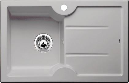 Кухонная мойка чаша слева, крыло справа, керамика, серый алюминий Blanco Idessa 45 S 514495