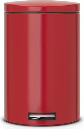 Мусорный бак 20л с педалью, MotionControl, красный Brabantia 483745