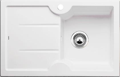 Кухонная мойка чаша справа, крыло слева, керамика, белый матовый Blanco Idessa 45 S 514488