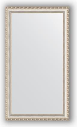 Зеркало в багетной раме 65x115см версаль серебро 64мм Evoform BY 3206