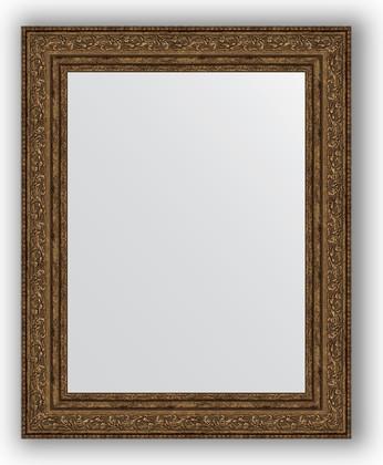 Зеркало в багетной раме 40x50см виньетка состаренная бронза 56мм Evoform BY 3009