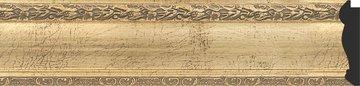 Зеркало с фацетом в багетной раме 62x92см состаренное серебро с орнаментом 120мм Evoform BY 3428