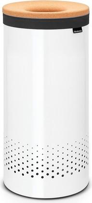 Бак для белья 35л белый с пробковой крышкой Brabantia 104367