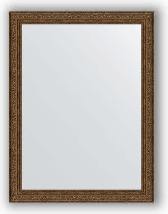 Зеркало в багетной раме 64x84см виньетка состаренная бронза 56мм Evoform BY 3169