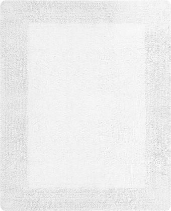Коврик для ванной комнаты 55x65см белый Spirella GAIA 1018029