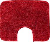 Коврик для туалета Grund Lex, 60x50см, полиакрил, красный 2770.06.4007