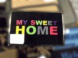 Коврик придверный 39х58см для помещения разноцветный, полиамид Golze My sweet HOME 1673-15-02