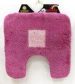 Коврик для туалета 55x55см розовый Spirella SQUARE 1001774*