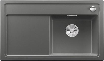 Кухонная мойка Blanco Zenar 45S-F, чаша справа, клапан-автомат, алюметаллик 523794