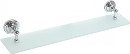 Полка стеклянная 600мм, хром, Bemeta 144302242