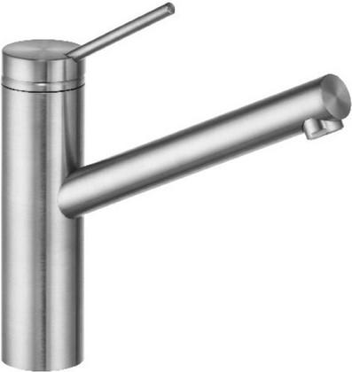 Смеситель для кухни однорычажный, сталь матовая Kludi TANGENTA 44904F875