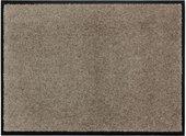 Коврик придверный 50x70см для помещения серебристо-серый, полиамид Golze Broadway 1680-40-001-05