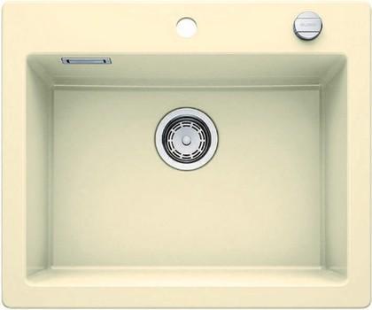 Кухонная мойка без крыла, с клапаном-автоматом, керамика, жасмин Blanco Palona 6 520926