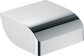 Держатель для туалетной бумаги с крышкой, хром Keuco Elegance 11660010000