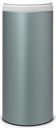 Мусорный бак 30л, мятный металлик Brabantia FlipBin 106880