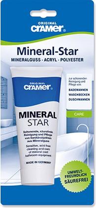 Средство по уходу за ваннами и раковинами из минерального литья 100мл Mineral-Star Cramer 30250