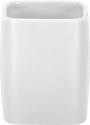 Стакан керамика, белый Kleine Wolke Cubic 5066100852