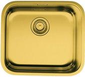 Кухонная мойка без крыла, нержавеющая сталь, латунь Omoikiri Ashino 49-АB 4993067