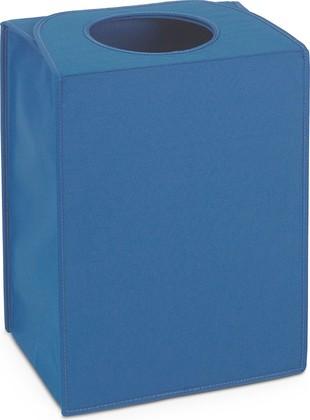 Сумка для белья прямоугольная 55л синяя Brabantia 104329