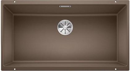 Кухонная мойка Blanco Subline 800-U, отводная арматура, мускат 523149