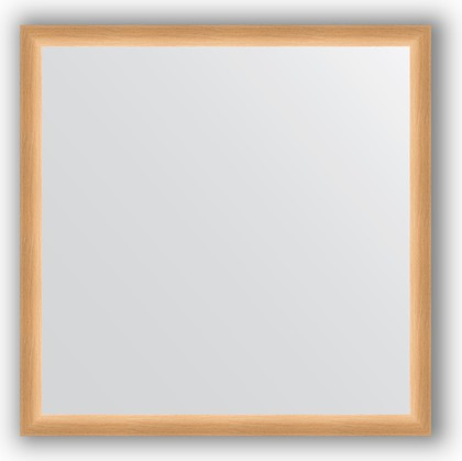 Зеркало 70x70см в багетной раме бук Evoform BY 0662