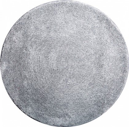 Коврик для ванной круглый d80см серебряный Grund Lex 2622.43.4002