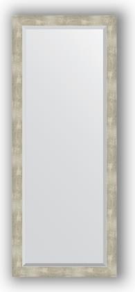 Зеркало 61x151см с фацетом 30мм в багетной раме алюминий Evoform BY 1189