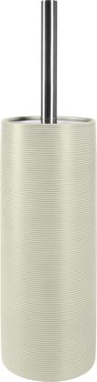 Ёрш с подставкой керамика, серый Spirella Tube Ribbed 1018516