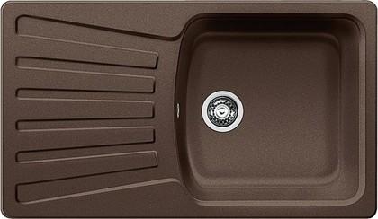 Кухонная мойка оборачиваемая с крылом, гранит, кофе Blanco NOVA 5 S 515018