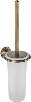 Туалетный ершик с колбой, подвесной 41.2см, античная бронза/матовое стекло Colombo Hermitage B3307.OA