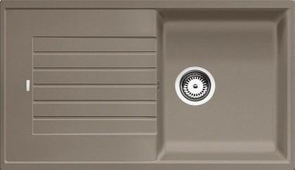 Кухонная мойка оборачиваемая с крылом, гранит, серый беж Blanco Zia 5 S 520518