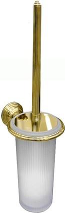 Туалетный ершик с колбой, подвесной 41.2см, золото/матовое стекло Colombo Hermitage B3307.HPS