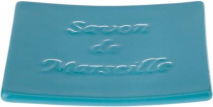 Мыльница керамическая голубая Spirella Savon De Marseille 4007260