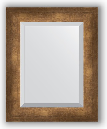 Зеркало 42x52см с фацетом 30мм в багетной раме старая бронза Evoform BY 1360