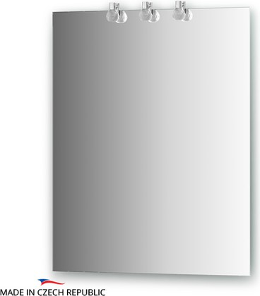 Зеркало 60x75см со светильниками Ellux CRY-B3 0207