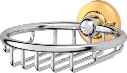 Мыльница-решётка хром золото 3SC STI 106