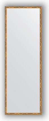 Зеркало 47x137см в багетной раме золото-бамбук Evoform BY 0712
