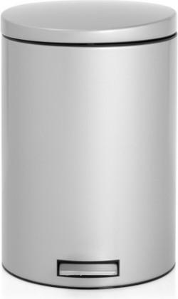 Мусорный бак 20л с педалью, MotionControl, серый металлик Brabantia 478307
